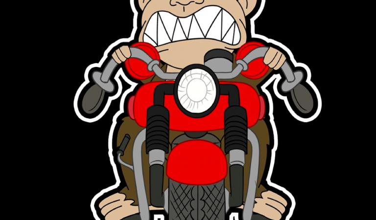 MotorbikeMemes.com sticker/slap