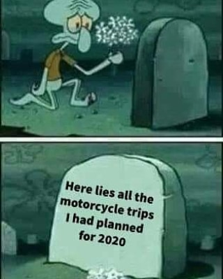 Motorcycle Trips in 2020