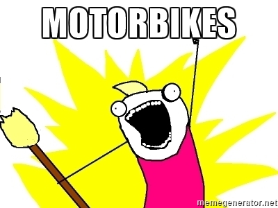 Want all motorcycles