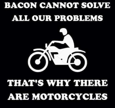 Bacon cannot solve all your problems!
