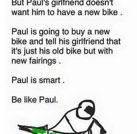 Be like Paul!