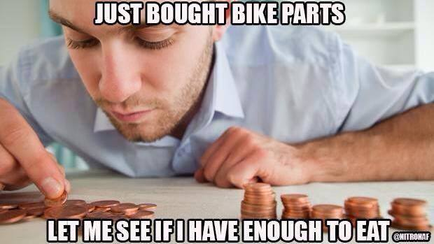 Bike Parts Vs Food