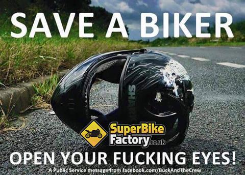 Save a biker!