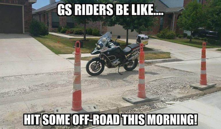 GS Riders be like