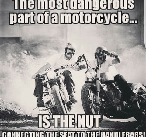 Most dangerous part of a motorcycle