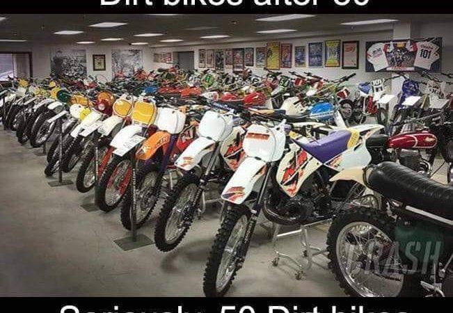 Men shouldn't have dirtbikes…