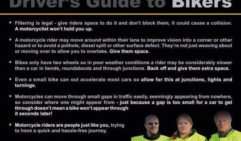 Drivers guide to bikers