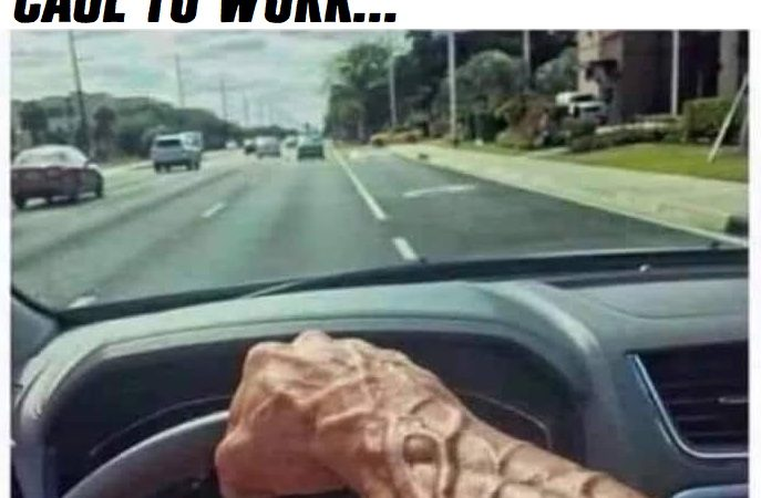 Driving the cage to work