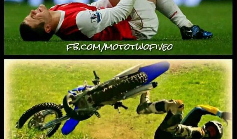 Footballers Vs Bikers