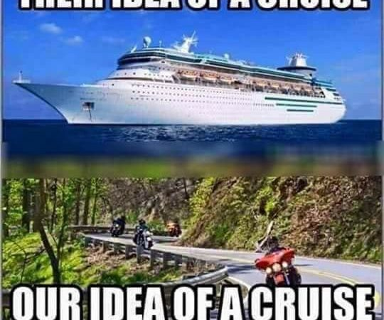 Going on a cruise