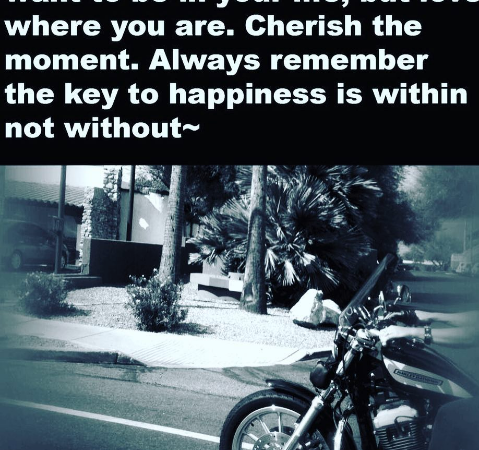 Happiness is within, not without!