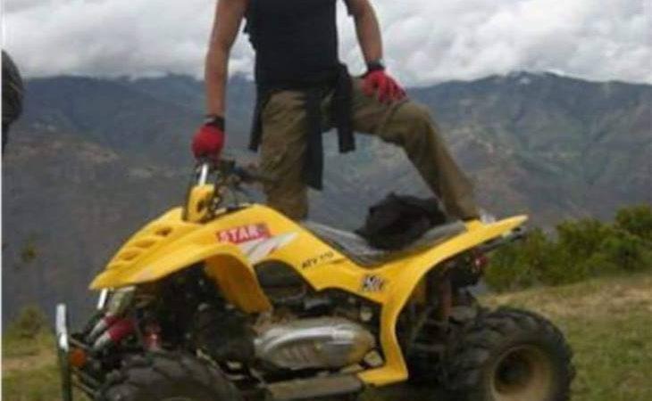 Hardest part about riding a quad