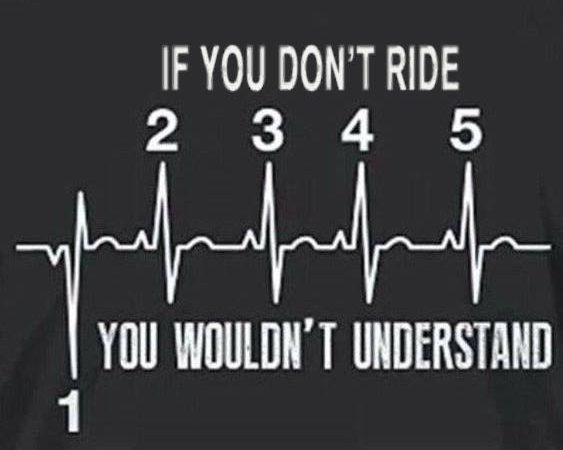 If you don't ride…