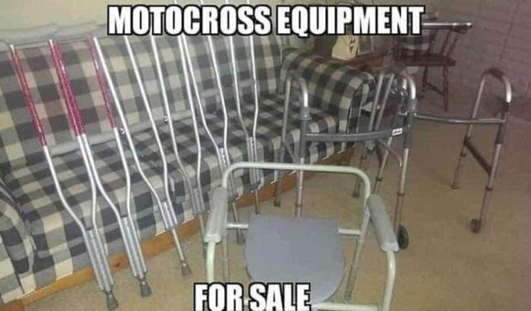 Motocross equipment for sale