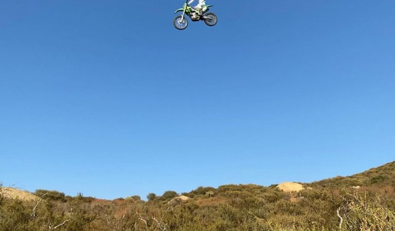 Motocross, because drugs can't get you that high!