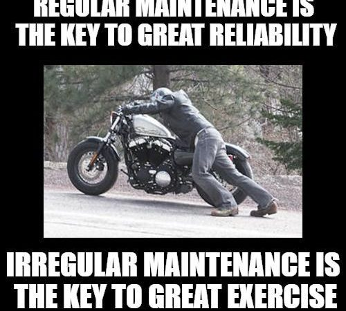 How often do you maintain your motorcycle?