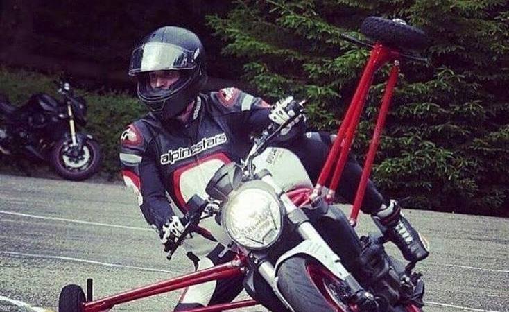 Motorcycle stabilisers
