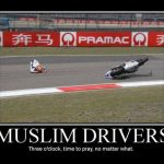 praying muslim drivers