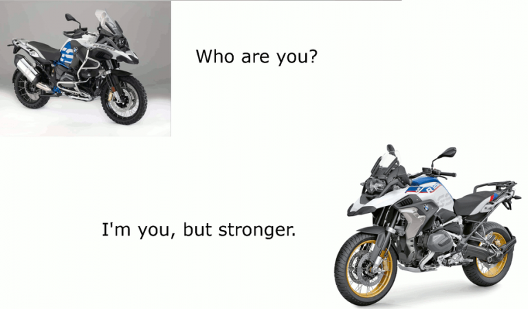 BMW GS, but stronger!