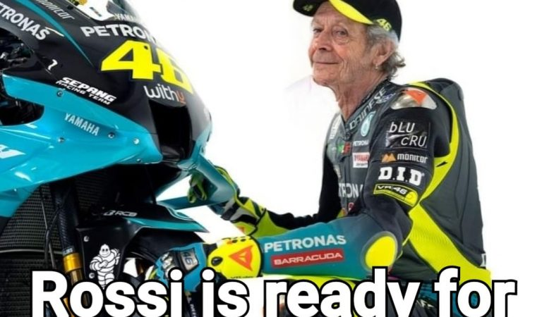 Rossi ready for the 2039 season