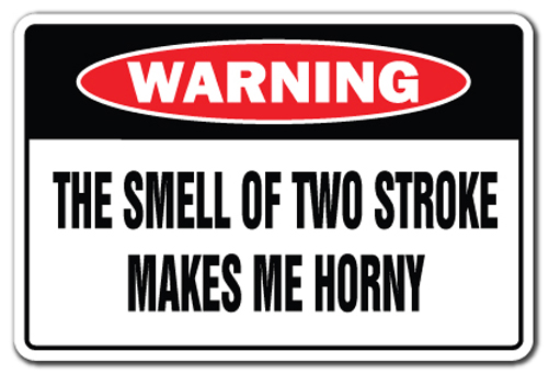The smell of 2 stroke